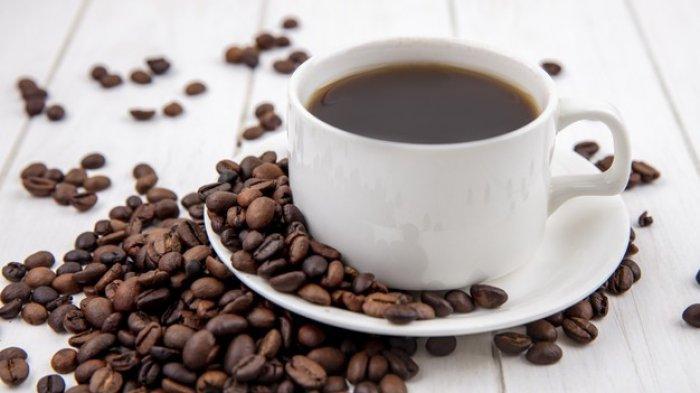 Ilustrasi - Secangkir kopi hitam.