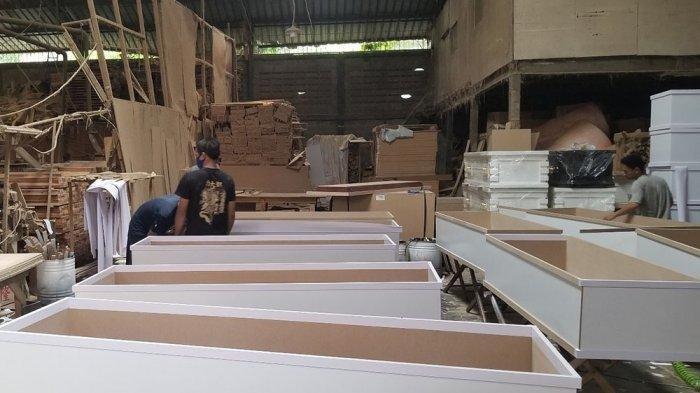 Rata-rata 20 Jenazah Covid-19 per Hari Dikuburkan, Pemkab Tangerang Kekurangan Peti