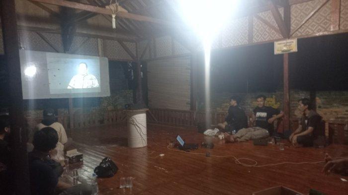 Malam Minggu, Pemuda-pemudi Progresif Kota Cilegon Nobar Film KPK End Game di Sanggar Wuni Kreasi
