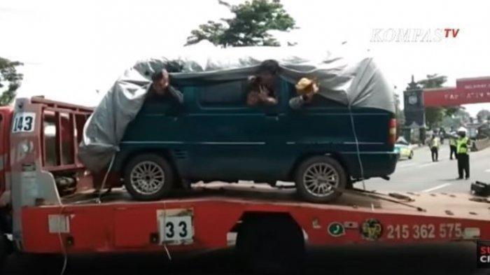 Polda Banten Dirikan 16 Posko Penyekatan Mudik Hingga Jalur Tikus, Truk Hingga Ambulans Diperiksa