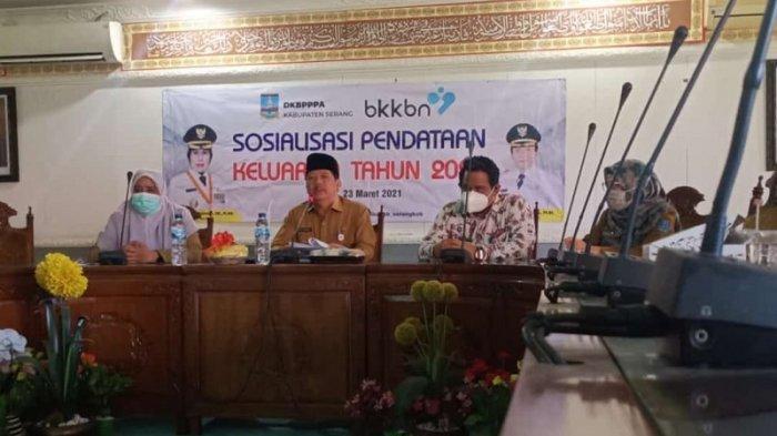 Pendataan Keluarga 2020 Siap Digelar di Kabupaten Serang Demi Program Pembangunan