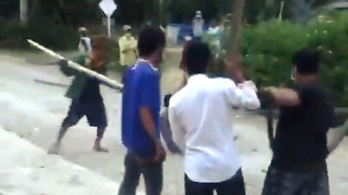 Viral Video Warga Positif Covid-19 Diikat Diseret dan Dipukul dengan Balok di Jalan Bak Binatang