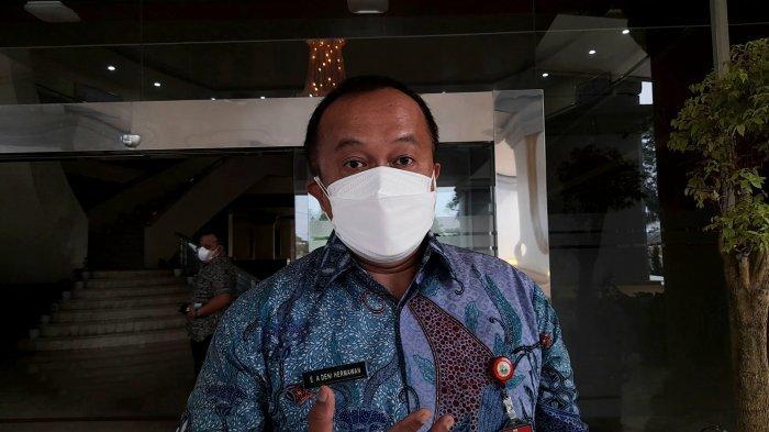 Sekretaris DPRD Provinsi Banten EA Deni Hermawan di DPRD Banten, Kamis (22/7/2021).