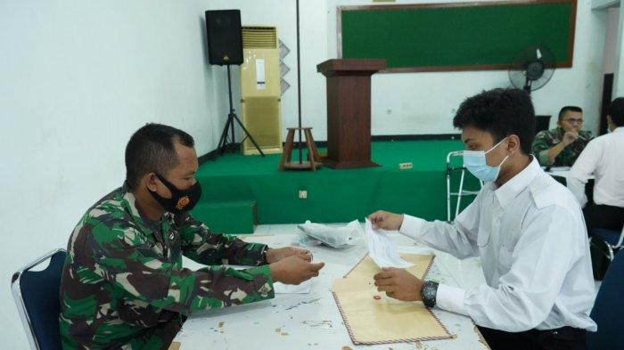 Korem 064/MY Melaksanakan Seleksi Administrasi Penerimaan Komponen Cadangan TNI AD