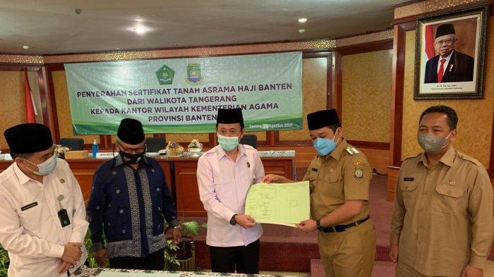 RESMI, Asrama Haji Banten akan Dibangun di Lahan 4,4 Hektare Cipondoh, Segini Biayanya
