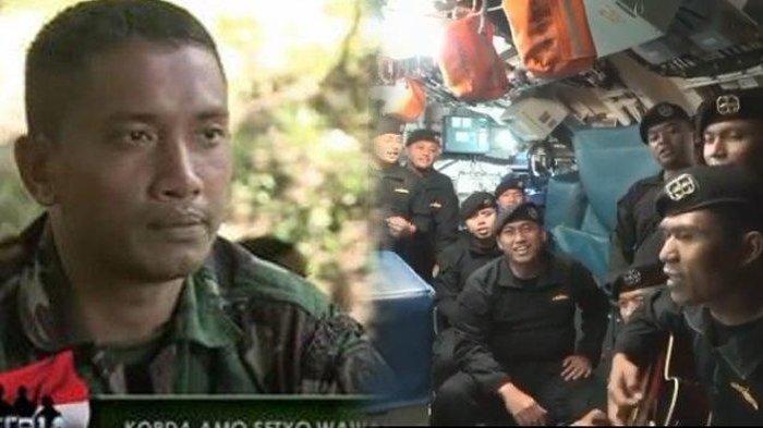 'Bapak Saya Rangkul Lalu Menghilang', Kisah Serda Setyo Mimpi Bertemu Almarhum Ayah Sebelum Gugur