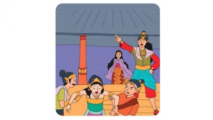 KUNCI JAWABAN Tema 8 Kelas 4 SD Halaman 153 Tokoh yang Berperan Antagonis dalam Cerita Cindelaras