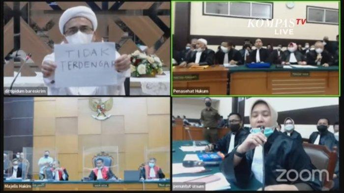 Sidang Rizieq Shihab, Berstatus Eks Napi Buat Tuntutan Hukuman di Kasus Kerumunan Diperberat