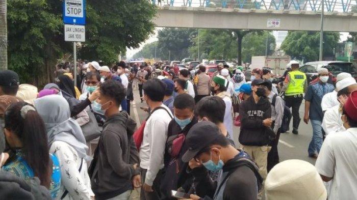Tim Rajawali Bawa 33 Remaja Asal Balaraja ke Mapolrestro Jaktim Sebelum Sidang Habib Rizieq