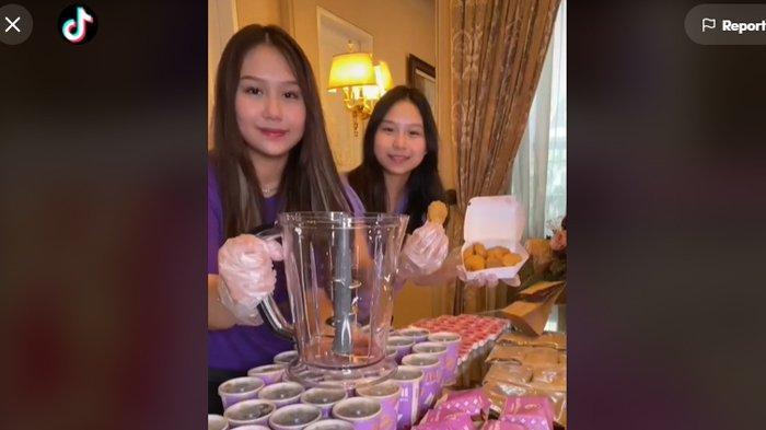 Selebgram Sisca Kohl bereksperimen membuat es krim dari paket McD BTS Meal