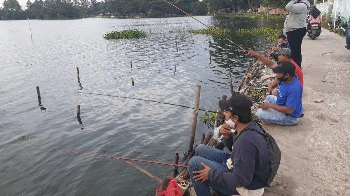Situ Cipondoh, Tempat Favorit Mancing di Tangerang, Tersedia Ikan Gabus Hingga Patin