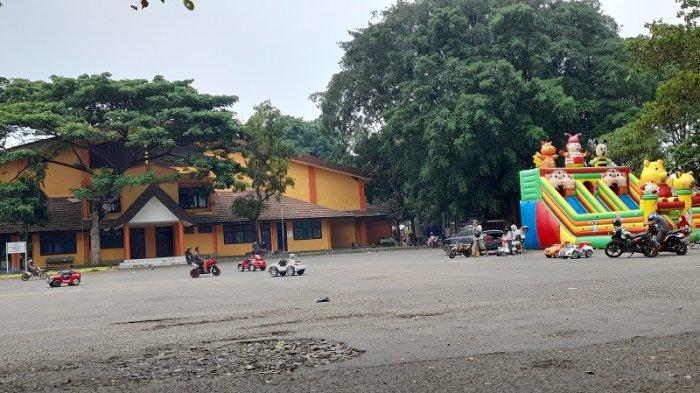 Sempat Tutup Selama PPKM, Usaha Rental Motor Trail Mini di Stadion Maulana Yusuf Kembali Menggeliat