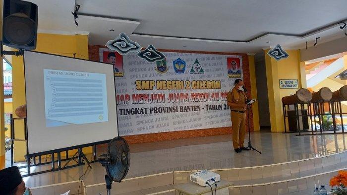 Lomba Sekolah Sehat Tingkat Provinsi Banten 2021, SMP Negeri 2 Wakili Kota Cilegon
