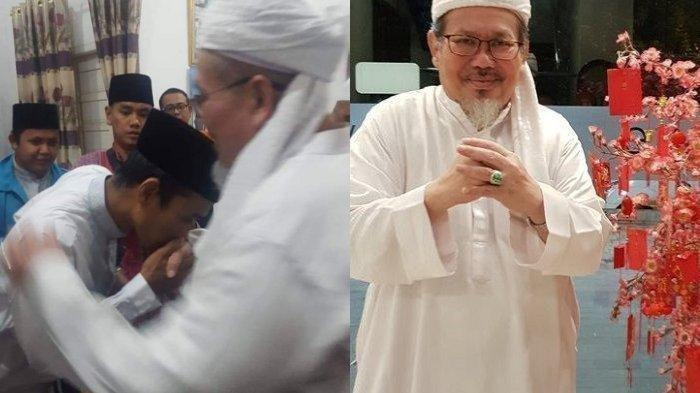 Ustaz Tengku Zulkarnain Meninggal Setelah Azan Magrib, UAS Unggah Foto Cium Tangan Almarhum