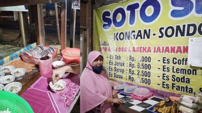 Ada Nasi Soto Seharga Rp 1.000, Pemilik Warung Bagikan Kisahnya: 9 Tahun Belum Naik Harga