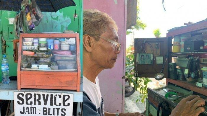 Dulu Bergabung di Srimulat, Sriyanto Kini jadi Tukang Servis Jam Demi Menyambung Hidup