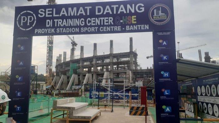 Stadion Banten Ditargetkan Rampung Maret 2022 Sebelum Masa Jabatan WH-Andika Berakhir
