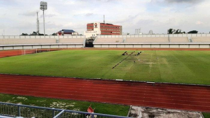 Siap-siap Piala Menpora 2021, Markas Persita Tangerang Indomilk Arena Berbenah