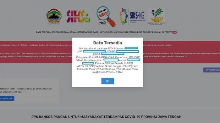 Cek Daftar Penerima Bansos PPKM Uang Tunai dan Beras 10 Kg di cekbansos.kemensos.go.id, Siapkan KTP