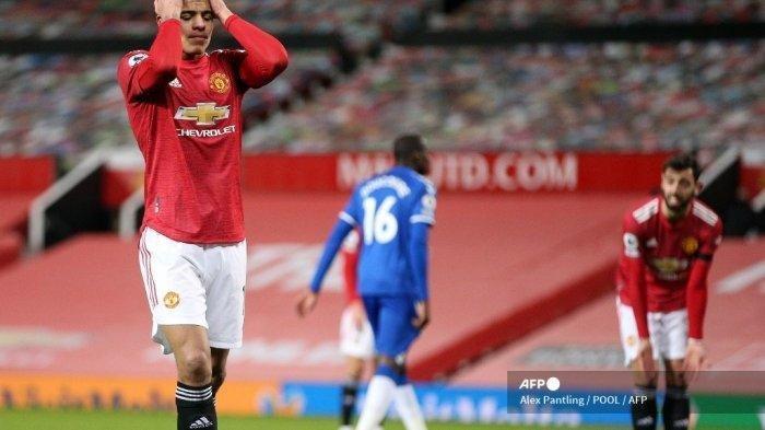 Hasil dan Klasemen Liga Inggris: MU vs Everton Imbang Salahkan De Gea, Arsenal Buat Pelatih Frustasi