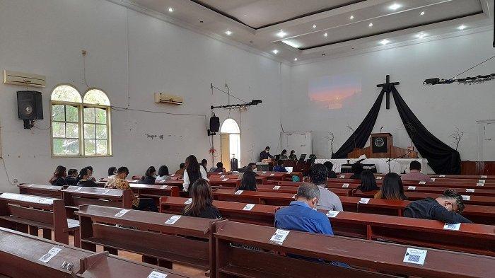 Enam Polisi Bersenjata Jaga Ibadah Jumat Agung di Gereja Kristen Pasundan Rangkasbitung
