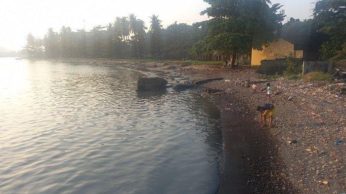 Suasana Pulau Merak Kecil di Kota Cilegon, Banten, Sabtu (24/7/2021).