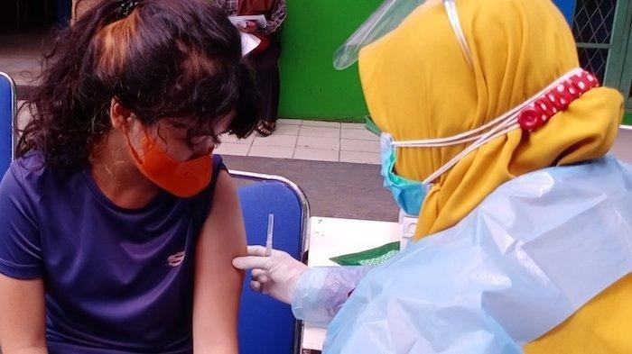 Cerita Siswa SMP di Banten yang Suntik Vaksin Covid-19, Awalnya Deg-degan, Tapi Tetap Antusias