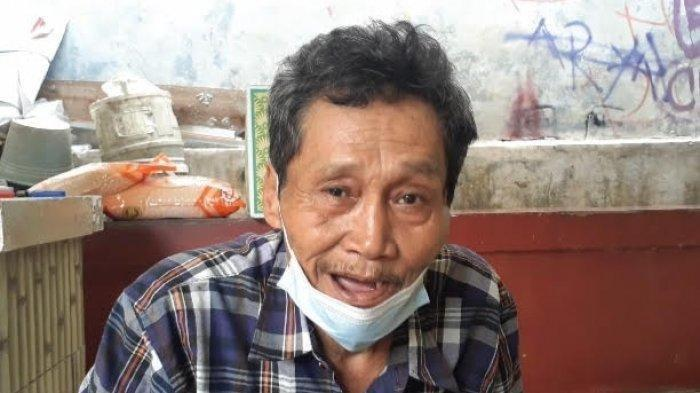 Sukari, saat ditemui di rumahnya di kawasan Kebon Manggu, Cisauk, Kabupaten Tangerang, Jumat (13/8/2021).