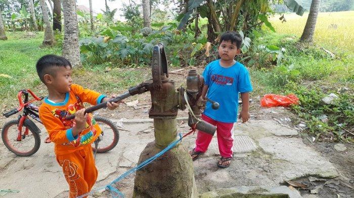 Kisah Sumur Tua di Desa Panamping Serang: Air Tak Pernah Kering Selama Puluhan Tahun