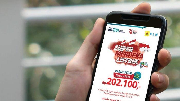 2.816 Pelanggan Banten Sudah Mendaftar, Ikuti Super Merdeka Listrik dari PLN sampai 31 Agustus 2021