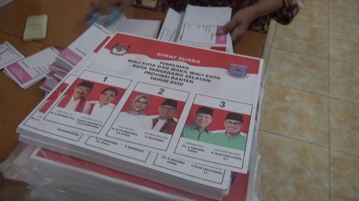 KPU Tangerang Selatan Targetkan 3 Hari Pelipatan Surat Suara, 22 Tenaga Profesional Dilibatkan