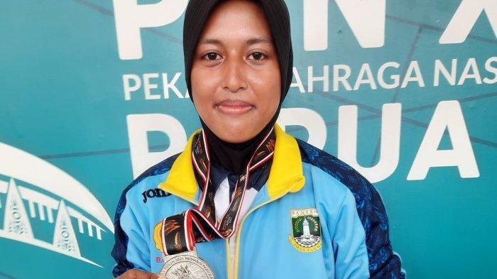 Syahara Atlet Panahan Asal Banten Meraih Perak, Hanya Kalah Tipis Lawan Ratih di PON XX Papua