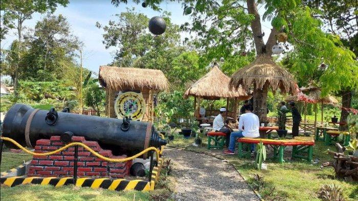 Warga Kota Serang Sulap Bekas Lahan Pembuangan Sampah Menjadi Taman Ki Amuk