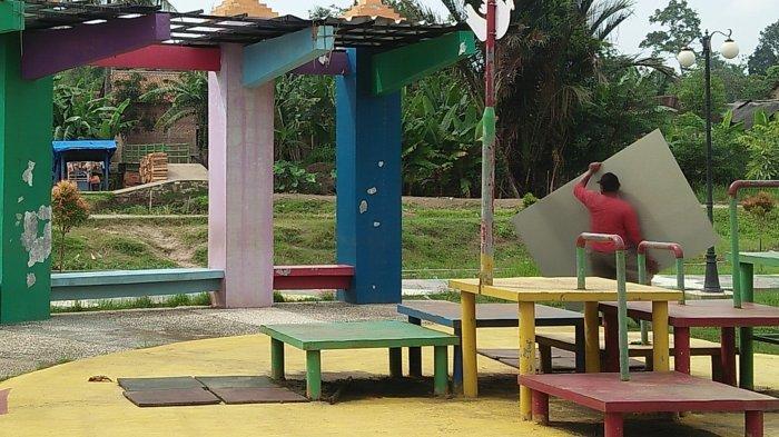Taman Salahaur Tutup Sejak Awal Pandemi Covid-19 Masuk Ke Indonesia