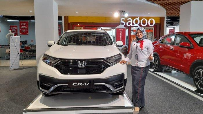 New Honda CR-V Meluncur, Dilengkapi Teknologi Keselamatan Honda Sensing