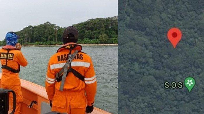 Cara Buat Tanda SOS di Google Maps, Seperti yang Muncul di Pulau Laki dekat Jatuhnya Sriwijaya Air