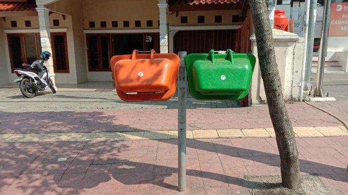 Banyak Tong Sampah di Pusat Kota Serang Hilang, Dinas Lingkungan Hidup Salahkan Oknum Warga