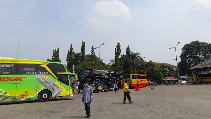 Terminal Pakupatan, Kota Serang, Rabu (5/4/2021).