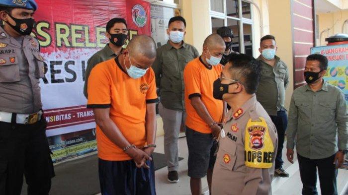 Polres Lebak Tangkap 2 Pelaku Sindikat Narkoba, Sabu Seberat 1 Kg Lebih Disita