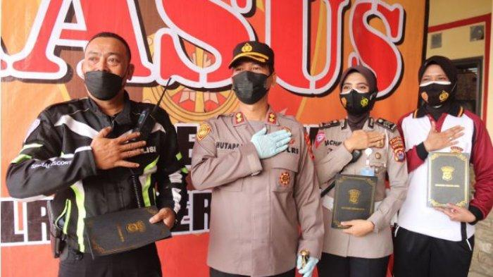 Kronologi Aksi Heroik Polwan Tangkap Perampok Minimarket di Serang, Sempat Jatuh saat Kejar Pelaku
