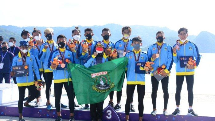 Cabang Olahraga Dayung Nomor TBR 1.000 Meter Putra Sumbang Perunggu untuk Banten, Persaingan Ketat