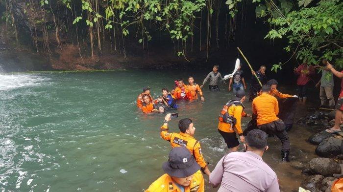 Pemuda Asal Cilegon Yang Tenggelam di Leuwi Mangrod Ditemukan Meninggal Dunia