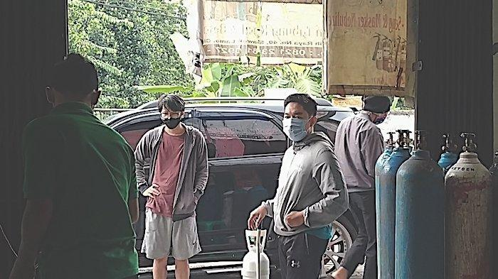 Cerita Pedagang Tabung Oksigen di Ciputat: Pasokan Kosong, Harga Makin Melambung Tinggi