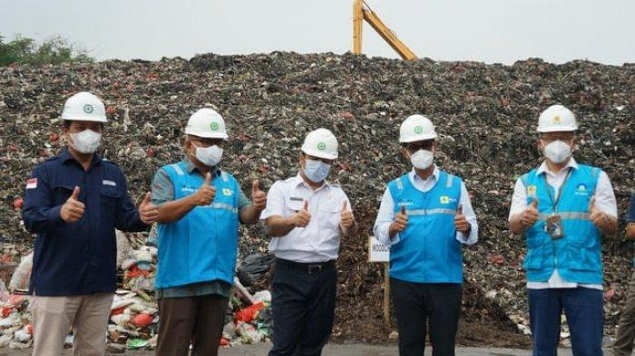 Anak Usaha PLN Uji Coba Bahan Bakar Sampah dari TPA Rawakucing Kota Tangerang di PLTU Lontar