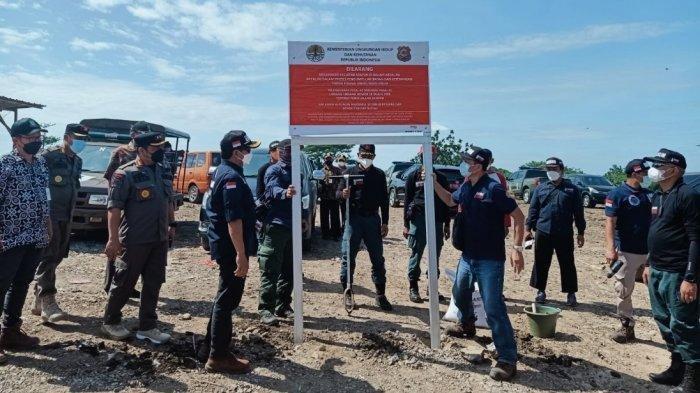Bibir Sungai Cisadane Terlihat Penuh Tumpukan Sampah, 6 TPS Liar di Kota Tangerang Disegel