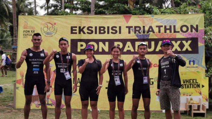 UPDATE PON XX Papua 2021: Tim Triathlon Banten Raih 3 Medali