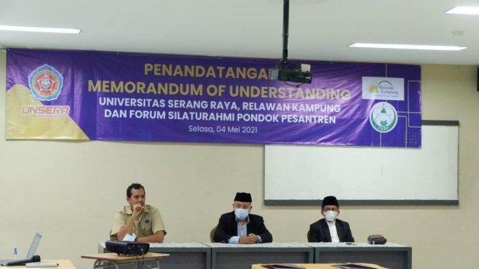 Unsera Siap-siap Jajaki Kelas Internasional Bersama Forum Silaturahmi Pondok Pesantren Banten