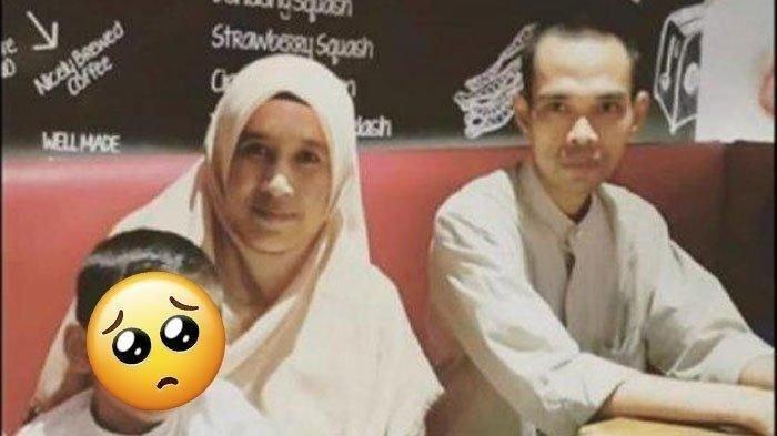 Ustaz Abdul Somad dan Mellya Juniarti saat masih suami istri