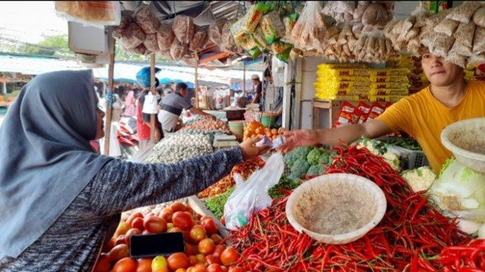Pedagang di Pasar Induk Rau Serang Mengaku Takut Divaksin Covid-19, Begini Tanggapan Pengelola