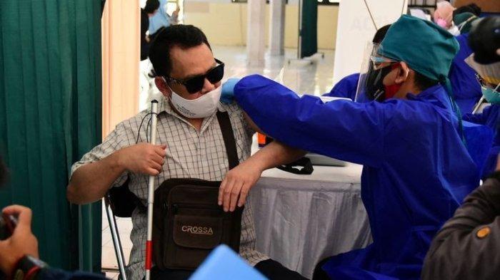 Tenggat Waktu Hampir Habis, Capaian Vaksinasi Penyandang Disabilitas di Banten Baru 22 Persen
